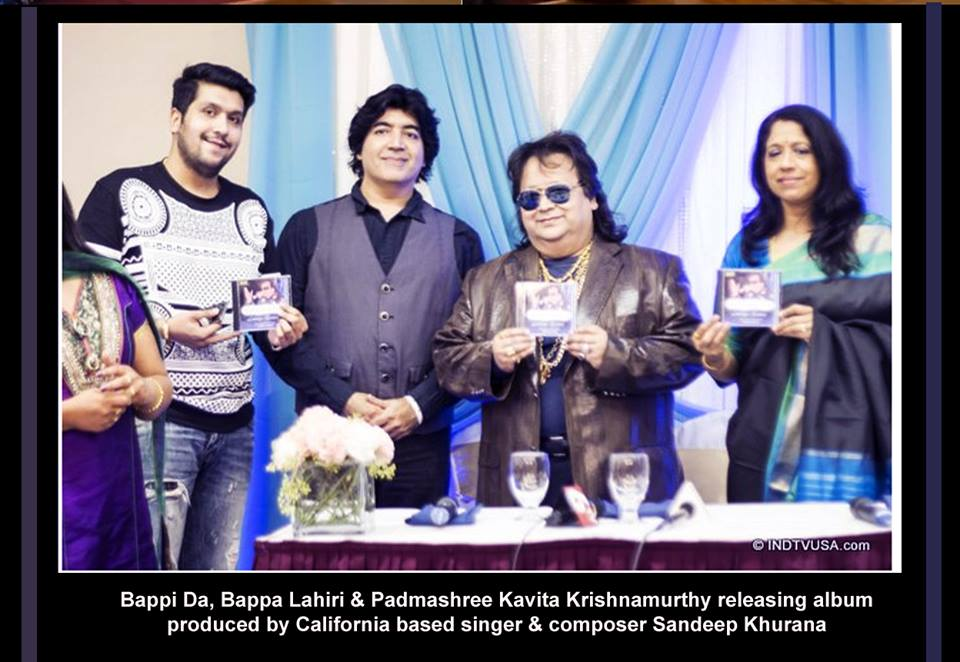 Bappi Da With Music Composer Sandeep Khurana